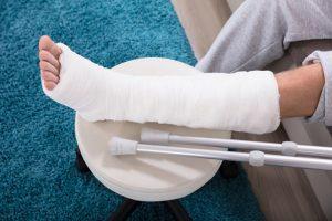Indemnización por fractura