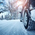 Accidente de tráfico con hielo o nieve