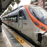 Accidente de tren en Mataró